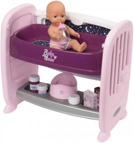 Ігровой набір Ліжечко з пеленатором Smoby Baby Nurse 220353