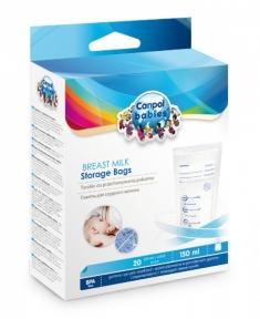 CANPOL Пакеты для хранения молока 20 шт 70/001