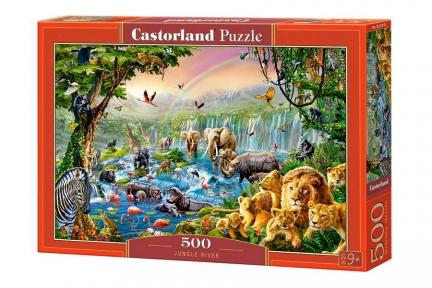 CASTORLAND Пазли 500 Річка в джунглях В-52141