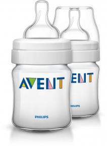 AVENT Бутылочка для кормления Classic 125 мл 2 шт 5857