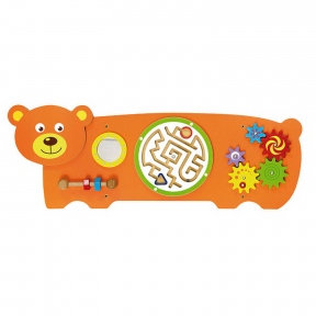 Бізіборд Ведмідь Viga Toys 50471