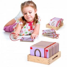 Набір для написання магнітних цифр 10 шт Viga Toys 50339