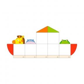 Набір магнітних дошок №9 Viga Toys 50779