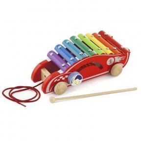 Іграшка-каталка Машинка Viga Toys 50341