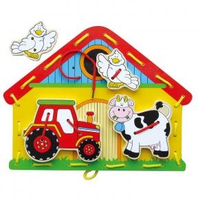 Шнурівка Viga Toys Ферма 59027