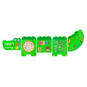 Бізіборд Крокодил Viga Toys 50346