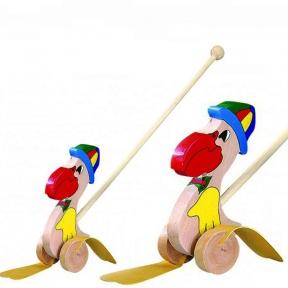 Каталка Пелікан в шляпі Bino 81568