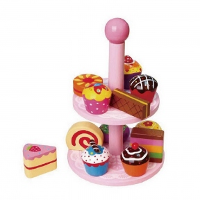 Іграшка Вітрина з тістечками Viga Toys 59893VG
