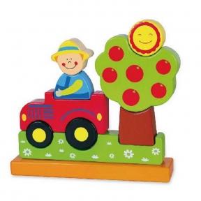 Магнітний пазл Ферма Viga Toys 59701