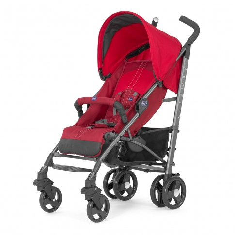 Прогулянкова коляска Chicco Lite Way Red 79547.70