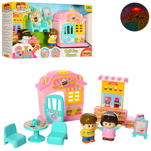 WINFUN Игровой набор Cafe Fun Playset 1309-NL