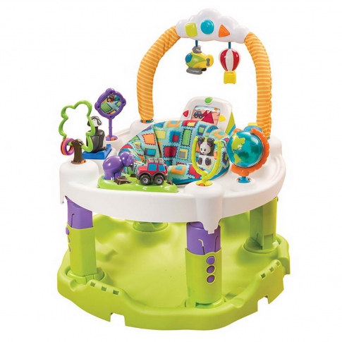 Развивающий центр Evenflo ExerSaucer Triple Fun Plus World Explorer