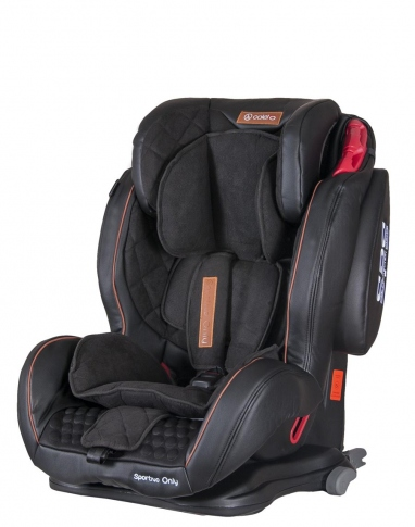 Автокрісло Coletto Sportivo Only Isofix Black