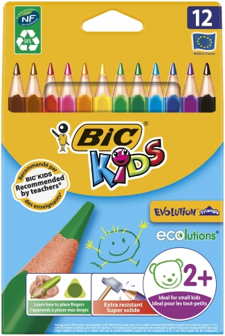 BIC KIDS Олівці Evolution Triangle 12 шт 50/2104