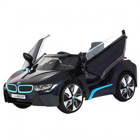 Електромобіль BMW i8 Spyder 12V RC Black Rollplay 32242