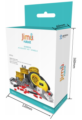 Набор Ubtech Jimu Accessory KIT Wheels JRAWK-01