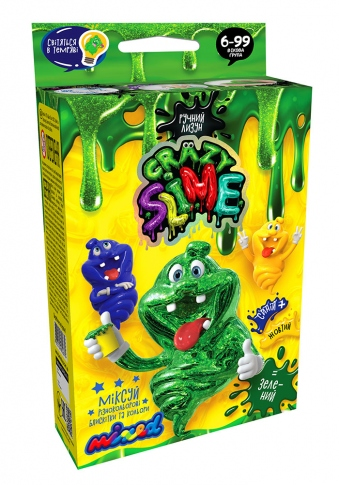 DANKO TOYS Набор опытов Crazy Slime Mini SLM-02