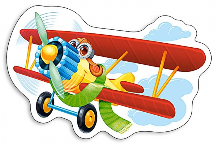 CASTORLAND Пазли 15 Funny Plane 23 x 16 см B-015092