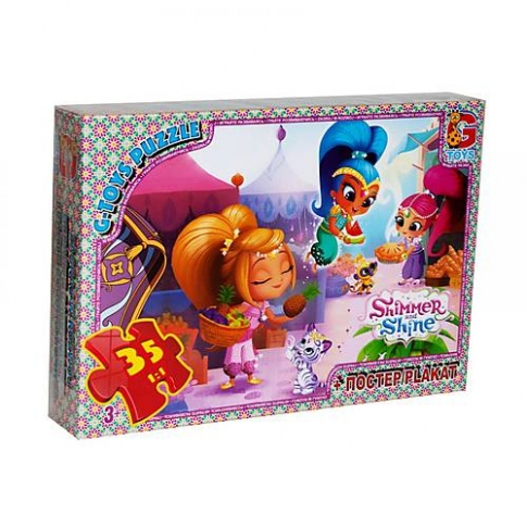 G-TOYS Пазли 35 Shimmer and Shine 30 x 21 см OS604