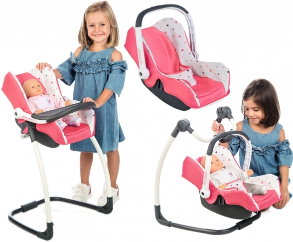Игровой набор Smoby Maxi Cosi 3in1 Coral 240230