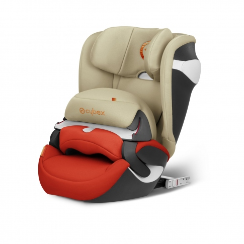 Автокрісло Cybex Juno M-fix Autumn Gold-burnt red PU2 518000403