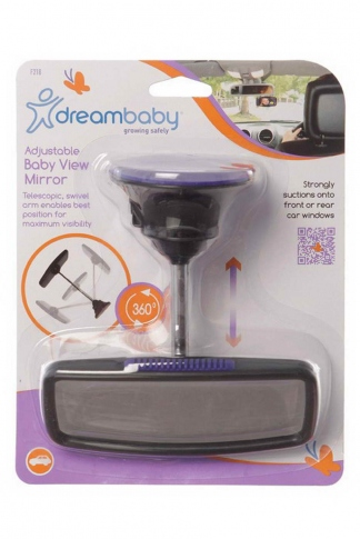 Дополнительное зеркало Dreambaby Adjustable Baby View Mirror F218 / PCR218