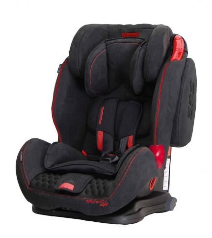 Автокрісло Coletto Sportivo Isofix Black New 2019