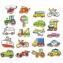 Набір магнітних фігурок Транспорт 20 шт Viga Toys 58924
